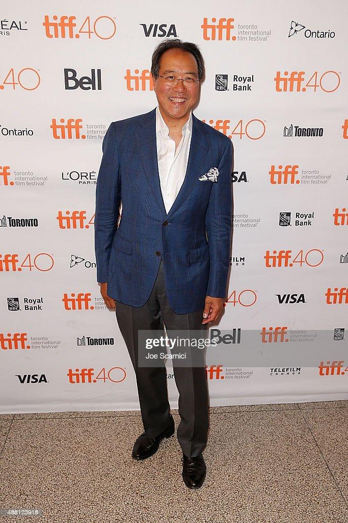 "2015 Toronto International Film Festival - ""The Music Of Strangers: Yo-Yo Ma And The Silk Road Ensemble"" Photo Call"