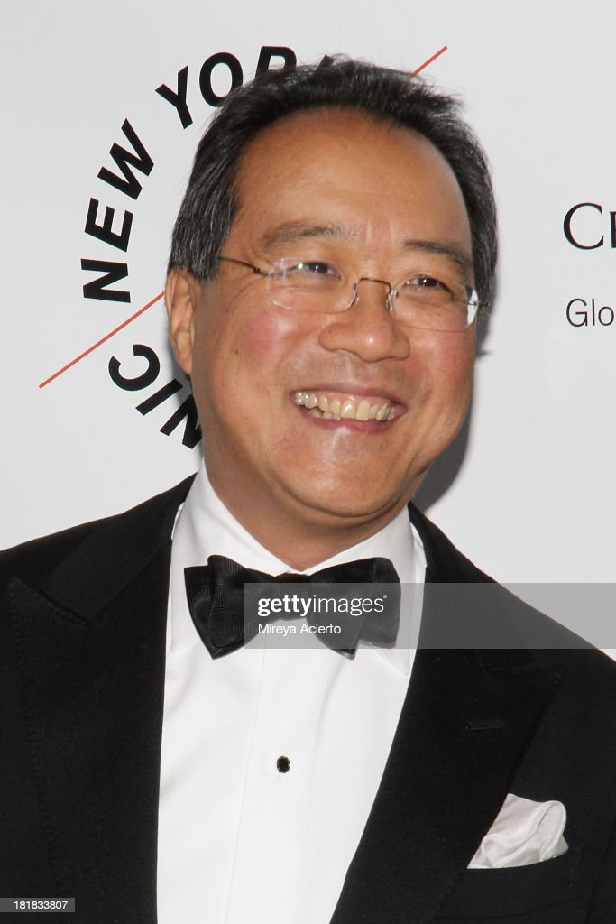 <a gi-track='captionPersonalityLinkClicked' href=/galleries/search?phrase=Yo-Yo+Ma&family=editorial&specificpeople=235395 ng-click='$event.stopPropagation()'>Yo-Yo Ma</a> attends the New York Philharmonic 172nd Season Opening Night Gala at Avery Fisher Hall, Lincoln Center on September 25, 2013 in New York City.