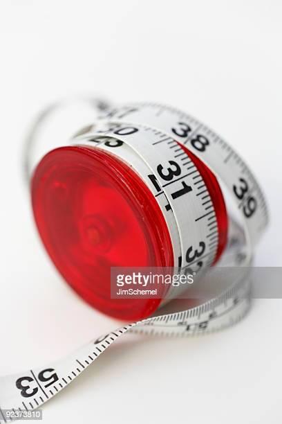 Yo-Yo avec ruban à mesurer