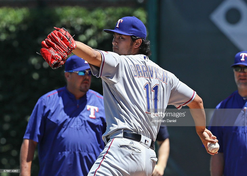 Texas Rangers v Chicago Cubs