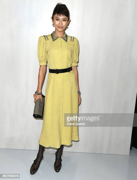 Yu Yamada arrives at the Bottega Veneta Hosts Hammer Museum Gala In The Garden at Hammer Museum on October 14 2017 in Westwood California