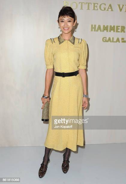 Yu Yamada arrives at the Hammer Museum Gala In The Garden at Hammer Museum on October 14 2017 in Westwood California