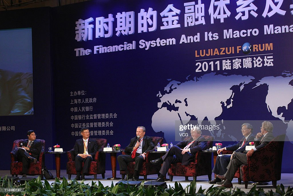 2011 Lujiazui Forum Opens In Shanghai
