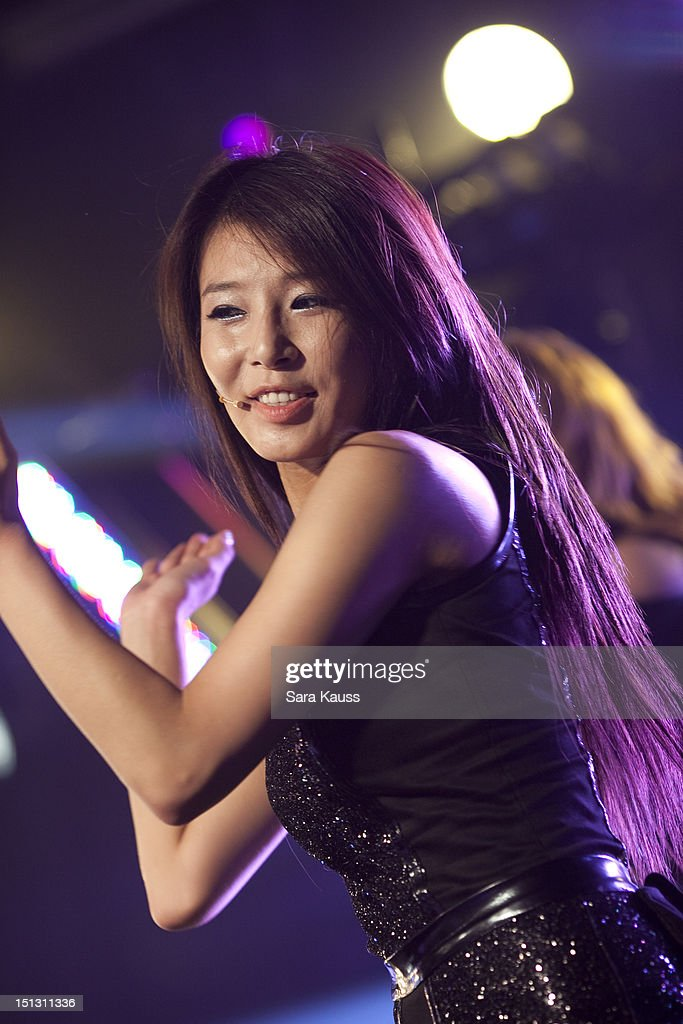 Yubin of Wonder Girls performs onstage at iHeartRadio Presents Wonder Girls at iHeartRadio Performance Theater on September 5, 2012 in New York City.