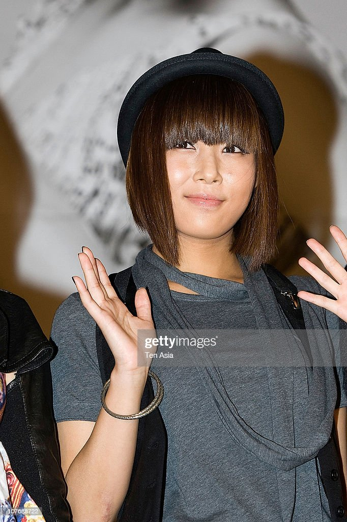 Yu-Bin of Wonder Girls poses for photographs on October 23, 2009 in Seoul, South Korea.