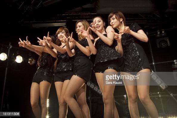 Yubin Yenny Lim Sohee and Sun of Wonder Girls perform onstage at iHeartRadio Presents Wonder Girls at iHeartRadio Performance Theater on September 5...
