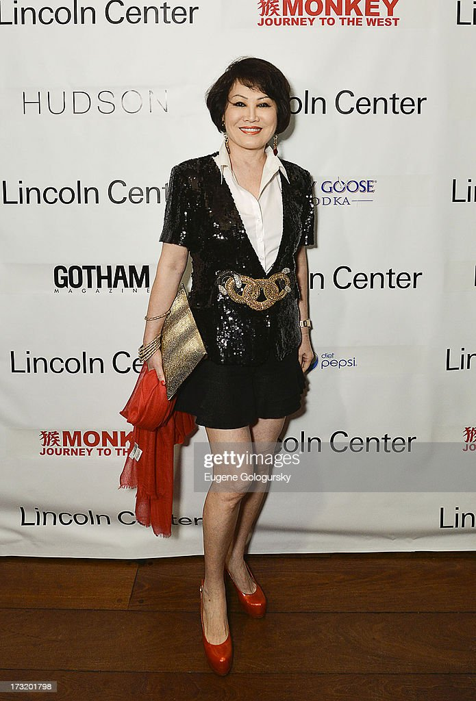 Yue Sai Kan attends the Lincoln Center Festival And Gotham Magazine Celebration of Monkey: Journey To The West at Hudson on July 9, 2013 in New York City.