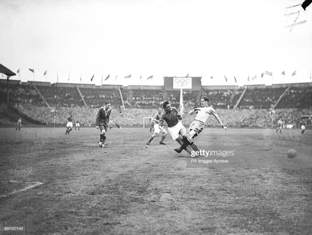 Soccer London Olympic Games Final Sweden v Yugoslavia