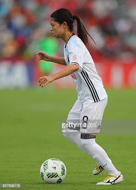 Yui Hasegawa of Japan during the FIFA U20 Women's World Cup Third Place Play Off match between USA and Japan at National Football Stadium on December...
