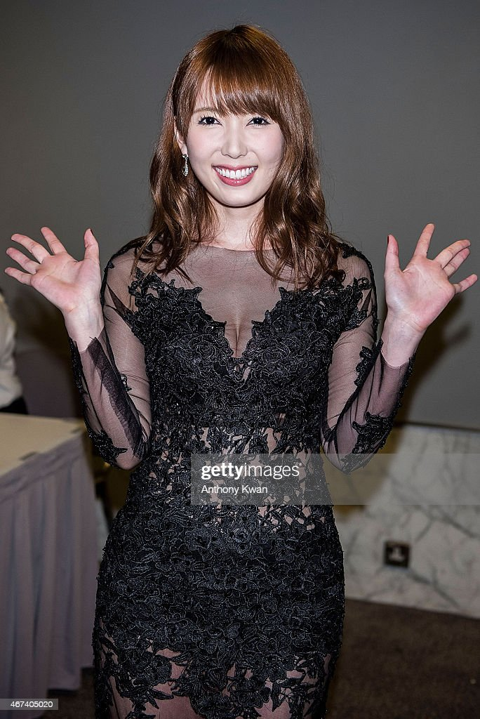 Yui Hatano of Japan attends the 'Action! Taipei' Press Conference during the 39th Hong Kong International Film Festival at Hong Kong Convention and Exhibition Centre on March 24, 2015 in Hong Kong, Hong Kong.