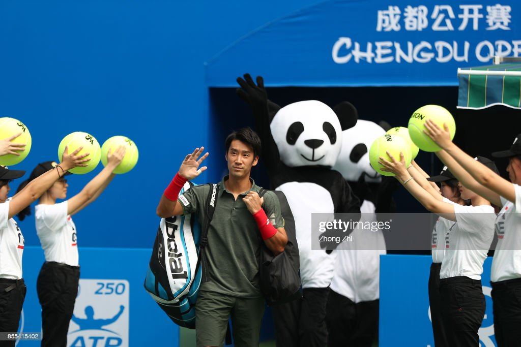 2017 ATP Chengdu Open - Day 5 : News Photo