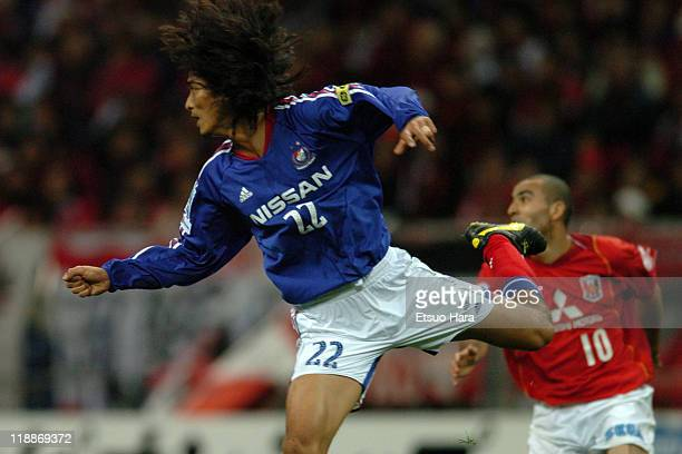 Yuji Nakazawa of Yokohama F Marinos in actionduring the JLeague Suntory Championship second leg match between Urawa Red Diamonds and Yokohama F...
