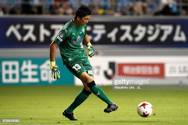 Yuji Rokutan of Shimizu SPulse in action during the JLeague J1 match between Sagan Tosu and Shimizu SPulse at Best Amenity Stadium on August 5 2017...
