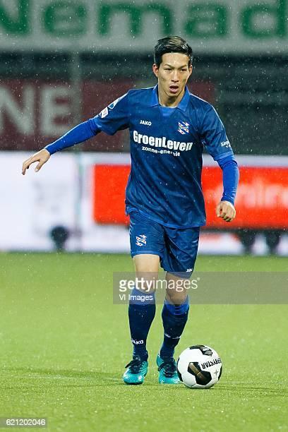 Yuki Kobayashi of sc Heerenveenduring the Dutch Eredivisie match between Sparta Rotterdam and sc Heerenveen at the Sparta stadium Het Kasteel on...