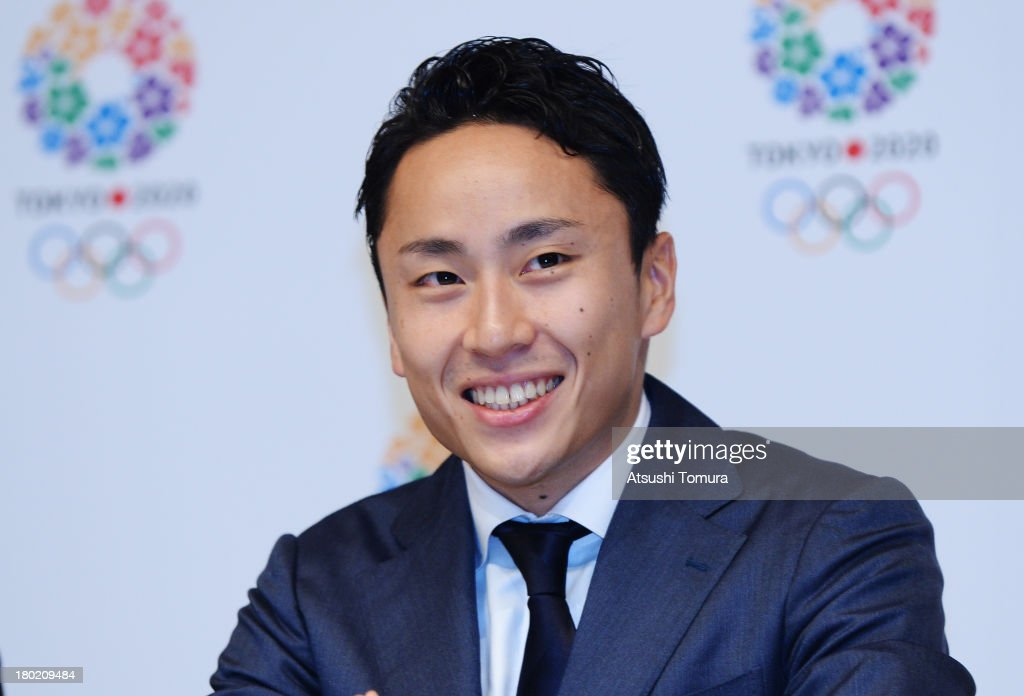 <a gi-track='captionPersonalityLinkClicked' href=/galleries/search?phrase=Yuki+Ota&family=editorial&specificpeople=2956051 ng-click='$event.stopPropagation()'>Yuki Ota</a>, Tokyo 2020 Bid Committee Ambassador smiles during Tokyo 2020 Bid Committee's press conference upon returning back from Buenos Aires at the Tokyo Metropolitan Government Building on September 10, 2013 in Tokyo, Japan. The Tokyo 2020 Bid Committee returns to home after Tokyo was awarded the 2020 Summer Olympic Games on September 7, 2013.