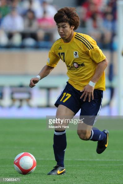 Yuki Otsu of JLeague Team as One in action during the JLeague Special Match between JLeague Team as One and Rest of the JLeague at National Stadium...