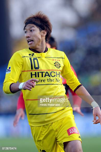 Yuki Otsu of Kashiwa Reysol in action during the JLeague 2016 match between Kashiwa Reysol and Urawa Red Diamonds at the Hitachi Kashiwa Soccer...