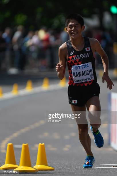 Yuki KAWAUCHI Japan during marathon in London on August 6 2017 at the 2017 IAAF World Championships athletics
