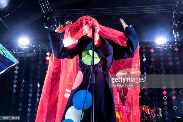 Yukimi Nagano of Little Dragon perfroms onstage during Sonar Festival 2017 on June 16 2017 in Barcelona Spain