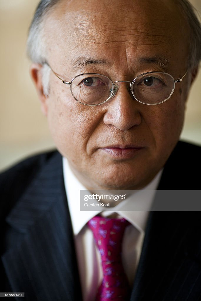 <a gi-track='captionPersonalityLinkClicked' href=/galleries/search?phrase=Yukiya+Amano&family=editorial&specificpeople=771232 ng-click='$event.stopPropagation()'>Yukiya Amano</a>, Director General of the International Atomic Energy Agency (IAEA), speaks during an interview in the restaurant International Club in the German Foreign Office on January 18, 2012 in Berlin, Germany.