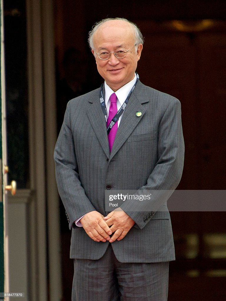 <a gi-track='captionPersonalityLinkClicked' href=/galleries/search?phrase=Yukiya+Amano&family=editorial&specificpeople=771232 ng-click='$event.stopPropagation()'>Yukiya Amano</a> (Japan), Director General of the International Atomic Energy Agency (IAEA) arrives for the working dinner for the heads of delegations at the Nuclear Security Summit on the South Lawn of the White House March 31, 2016 in Washington, D.C..