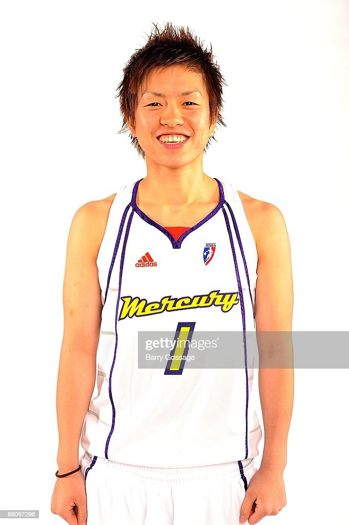 Yuko Oga of the Phoenix Mercury poses for a portrait during WNBA Media Day on May 19 2009 at US Airways Center in Phoenix Arizona NOTE TO USER User...