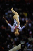 Yuko Shintake of Japan competes on the Beam of the Apparatus Final at the artistic gymnastics during day five of the 16th Asian Games Guangzhou 2010...