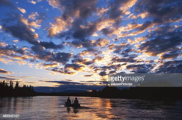 Yukon Midnight Paddle