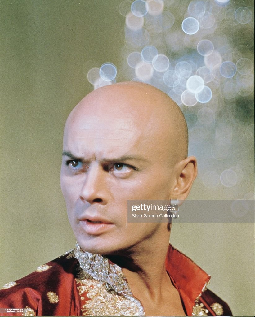 <a gi-track='captionPersonalityLinkClicked' href=/galleries/search?phrase=Yul+Brynner&family=editorial&specificpeople=204712 ng-click='$event.stopPropagation()'>Yul Brynner</a> (1920-1985), Russian-born US actor, in costume in a publicity still issued for the film, 'The King and I', 1956. The musical, directed by Walter Lang (1896-1972), starred Brynner as 'King Mongkut of Siam'.