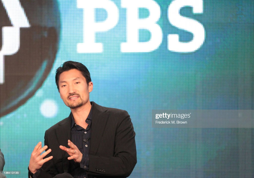 Yul Kwon speaks during the 'Lidia Celebrates America Weddings: Something Borrowed, Something New' panel during the PBS portion of the 2012 Winter TCA Tour held at The Langham Huntington Hotel and Spa on January 4, 2012 in Pasadena, California.
