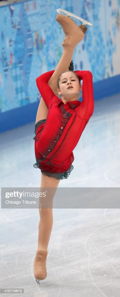 Yulia Lipnitskaya of Russia performs in the ladies' figure skating free skate at the Iceberg Skating Palace during the Winter Olympics in Sochi, Russia, Thursday, Feb. 20, 2014.