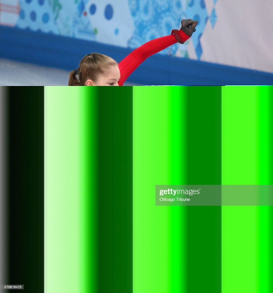 Yulia Lipnitskaya of Russia stumbles in the ladies' figure skating free skate at the Iceberg Skating Palace during the Winter Olympics in Sochi, Russia, Thursday, Feb. 20, 2014.