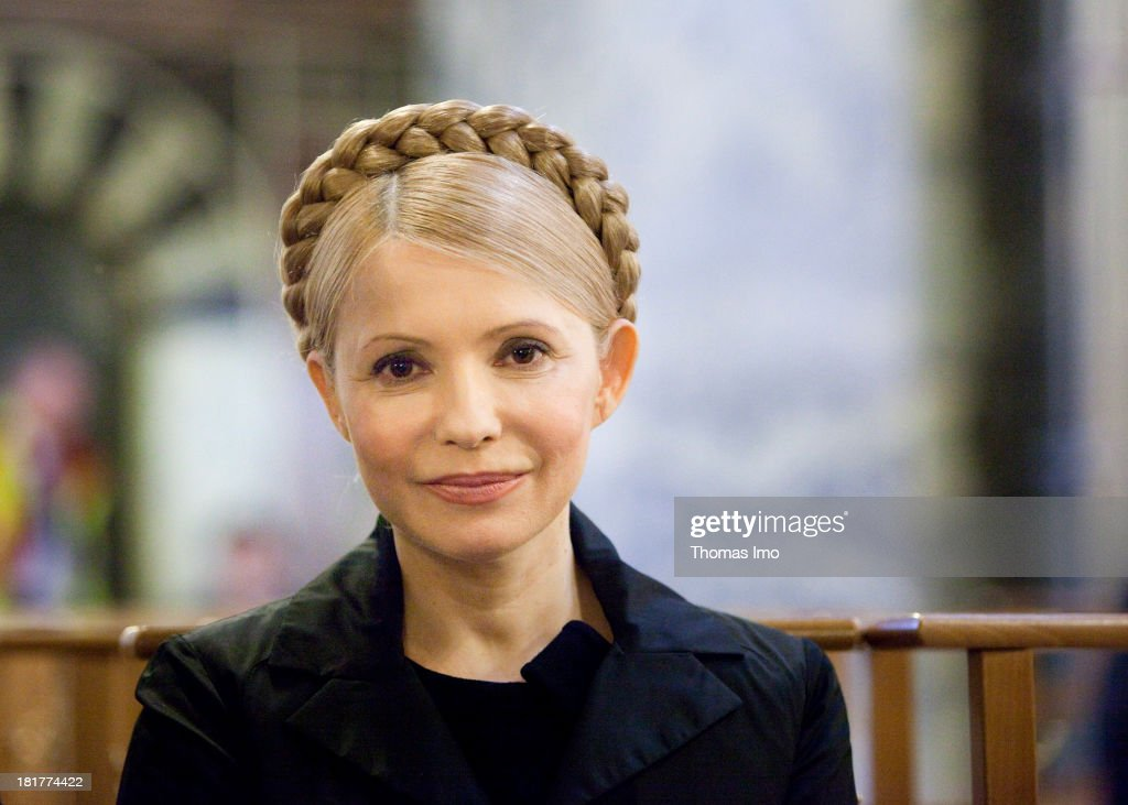 <a gi-track='captionPersonalityLinkClicked' href=/galleries/search?phrase=Yulia+Tymoshenko&family=editorial&specificpeople=546280 ng-click='$event.stopPropagation()'>Yulia Tymoshenko</a>, Ukrainian politician , in the Aachen Cathedral.