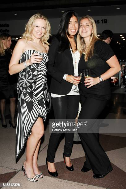 Yuliya Reda Sabrina Lee and Heather Goldsmith attend EAST SIDE HOUSE SETTLEMENT Gala Preview of the 2010 NEW YORK INTERNATIONAL AUTO SHOW at Javits...