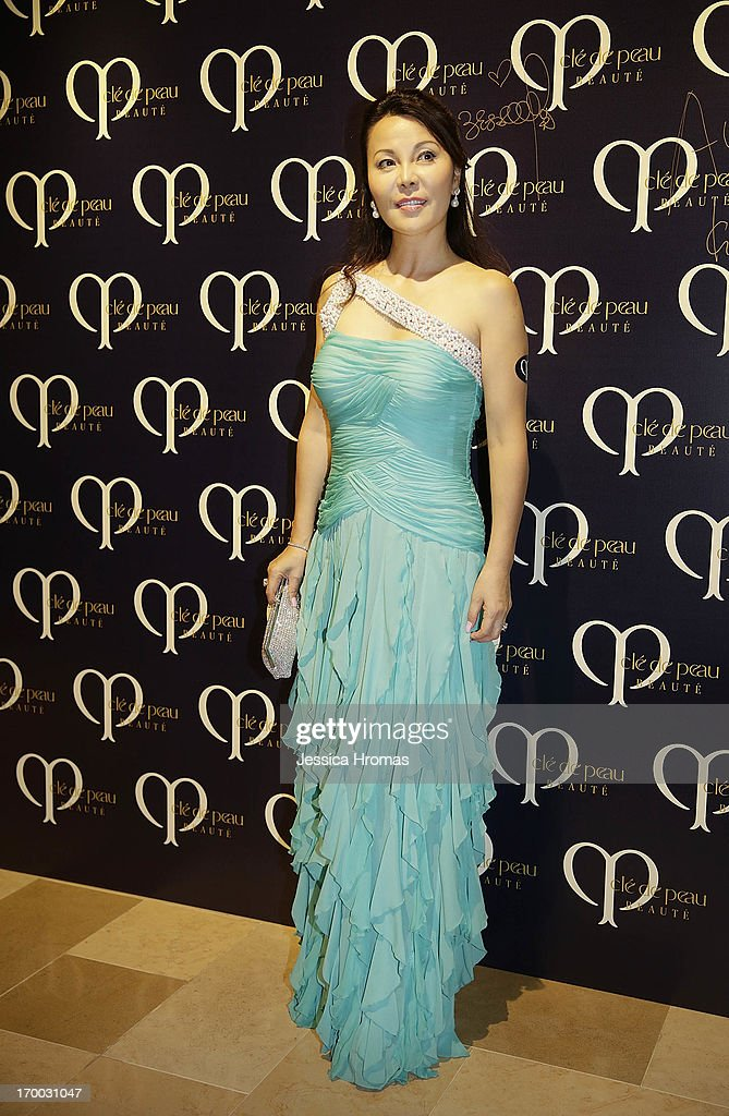 Yumi Honda attends the Shiseido 'Cle De Peau Beaute' gala dinner at ArtisTree on June 6, 2013 in Hong Kong, Hong Kong.