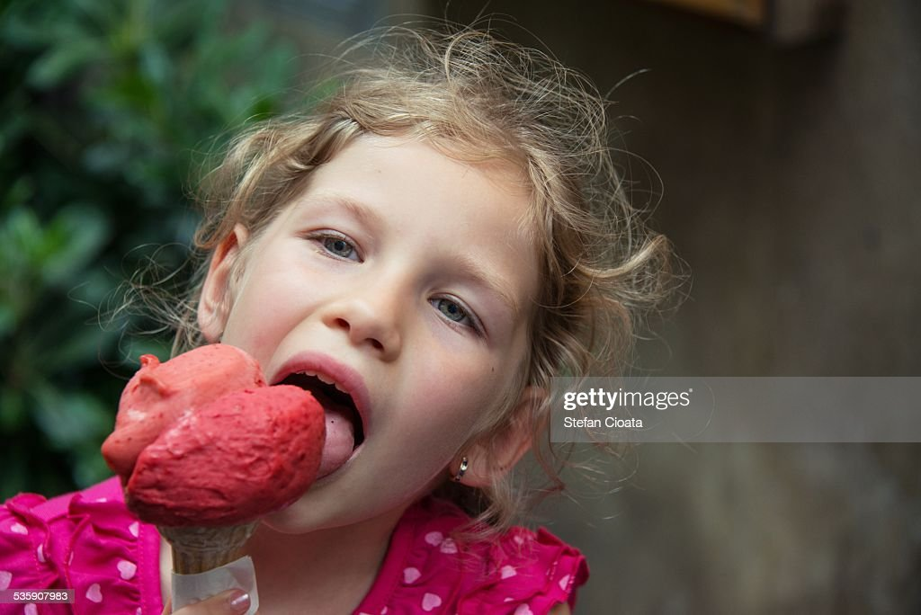 Yummy icecream : Stock-Foto