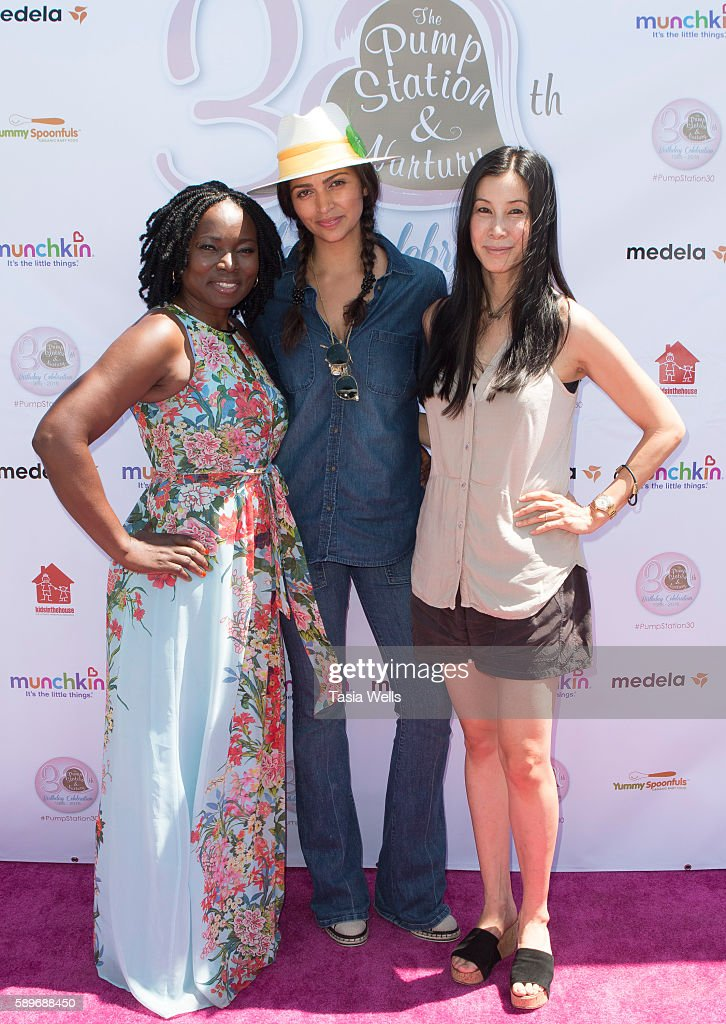 Yummy Spoonfuls founder and partner Agatha Achindu Yummy Spoonfuls cofounder and TV host Camila Alves McConaughey and american journalist and...