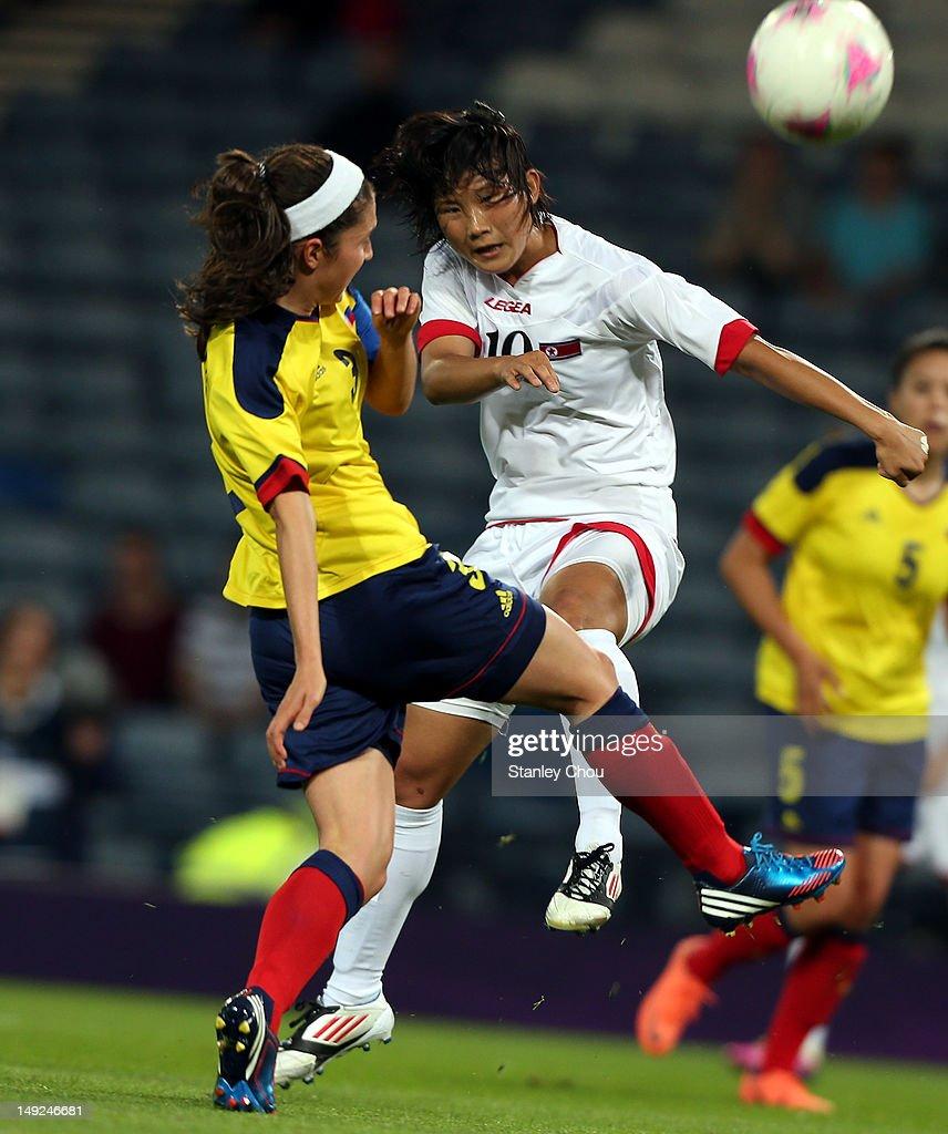 Olympics Day -2 - Women's Football - Colombia v Korea DPR
