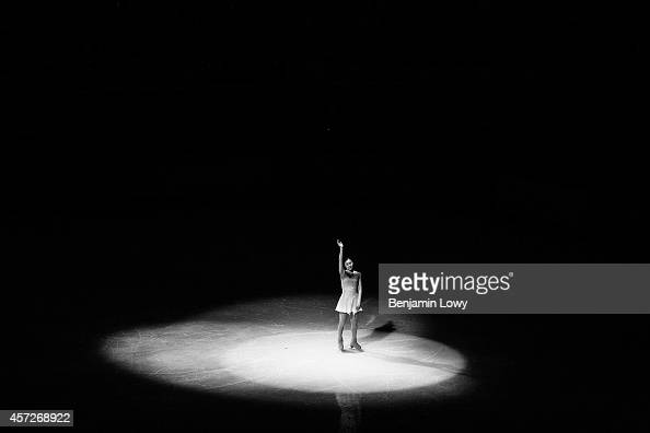 Yuna Kim of Korea skates during the Figure Skating Exhibition Gala on Day 15 of the Sochi 2014 Winter Olympics at Iceberg Skating Palace on February...