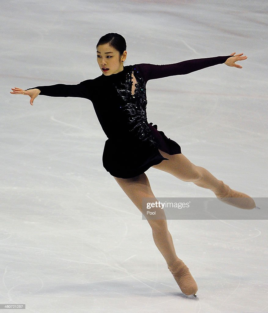 Yuna Kim of South Korea performs in the Ladies Free Skating during the Korea Figure Skating Championships 2014 at Goyang Oulimnuri Ice Rink on January 5, 2014 in Goyang, South Korea.