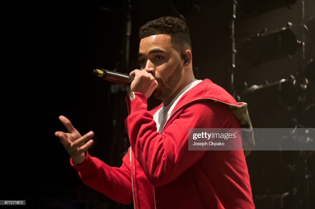 Yungen Perform At The O2 Shepherd's Bush Empire