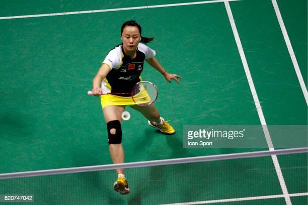 Yunlei ZHAO Double Femme Championnats du Monde de Badminton 2010 Stade Pierre de Coubertin Paris