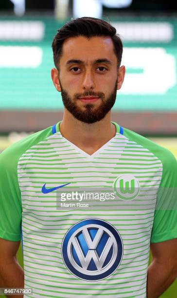 Yunus Malli of VfL Wolfsburg poses during the team presentation at on September 13 2017 in Wolfsburg Germany