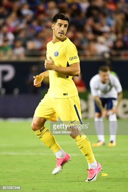 Yuri Bereiche of PSG during the International Champions Cup match between Paris Saint Germain and Tottenham Hotspur on July 22 2017 in Orlando United...