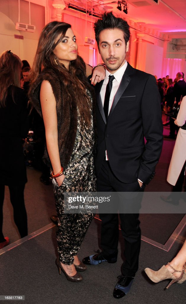 Yuri Buzzi (R) attends a party celebrating 30 years of Diet Coke and announcing designer Marc Jacobs as Creative Director for Diet Coke in 2013 at the German Gymnasium Kings Cross on March 11, 2013 in London, England.