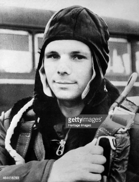 Yuri Gagarin Russian cosmonaut 1961 Gagarin became the first man in space when he orbited the Earth aboard Vostok 1 on 12 April 1961 He was killed in...