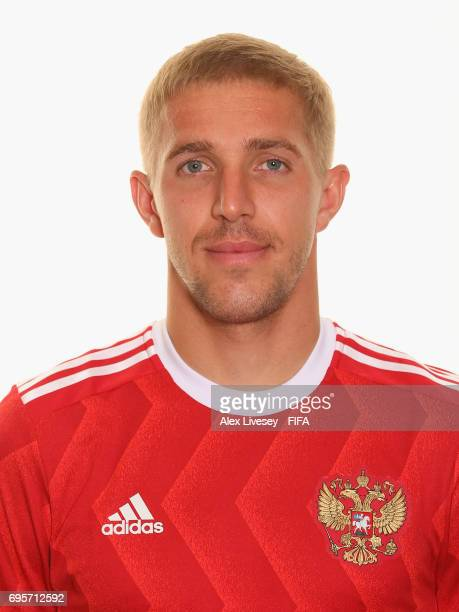 Yuriy Gazinskiy of Russia during a portrait session at the Lotte Hotel on June 13 2017 in Moscow Russia