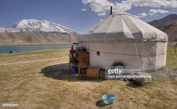 yurt at karakol lake