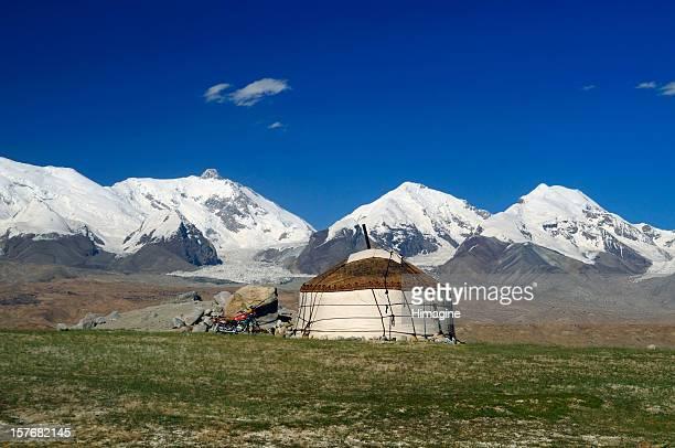 Yurt in the Kungur range