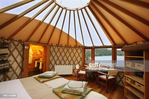 Yurt Interior Patagonia Camp Chile